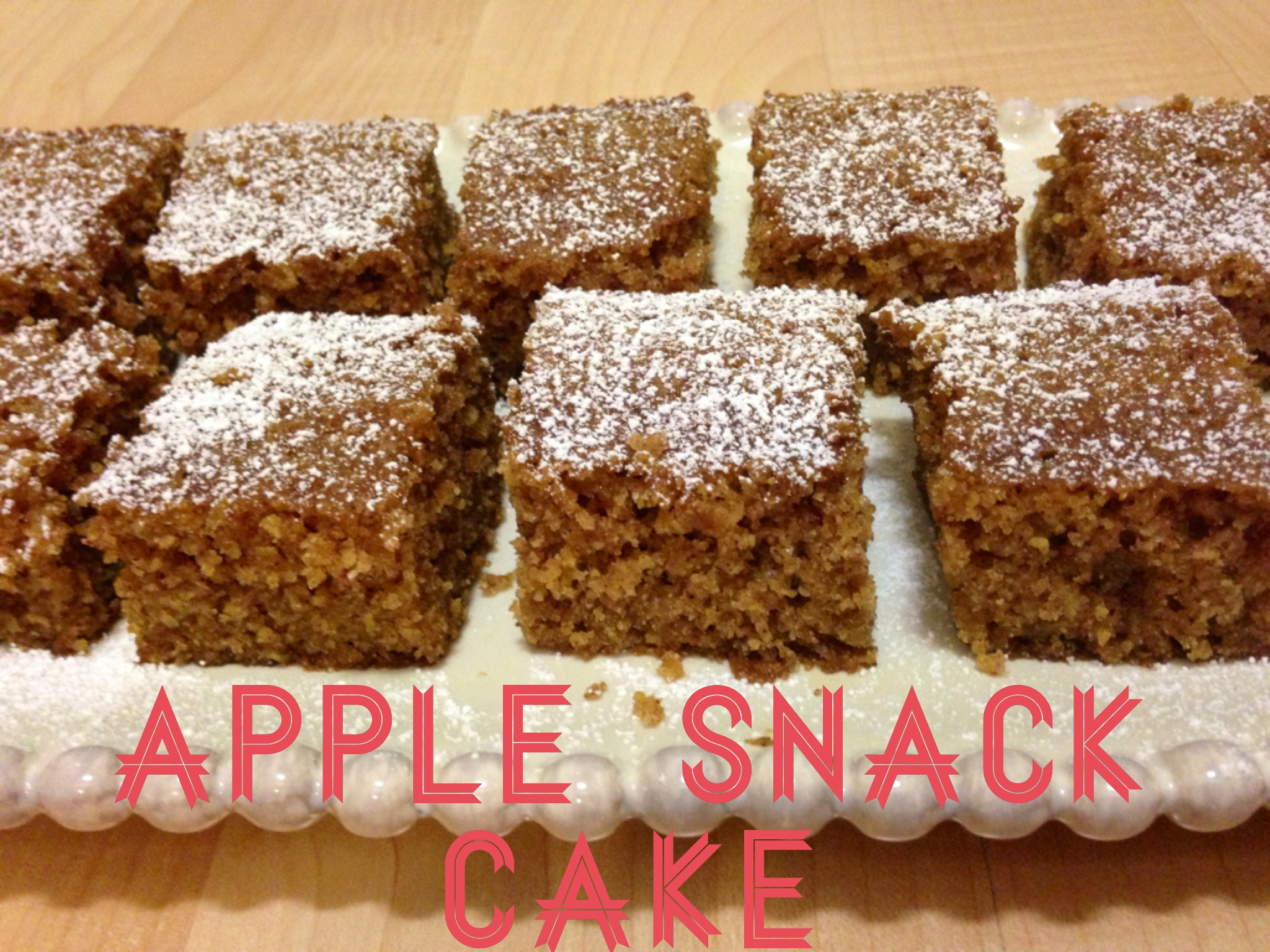 applesnackcake