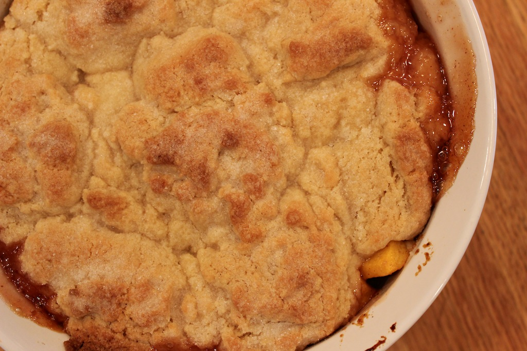 Peach Cobbler | A Lovely Living
