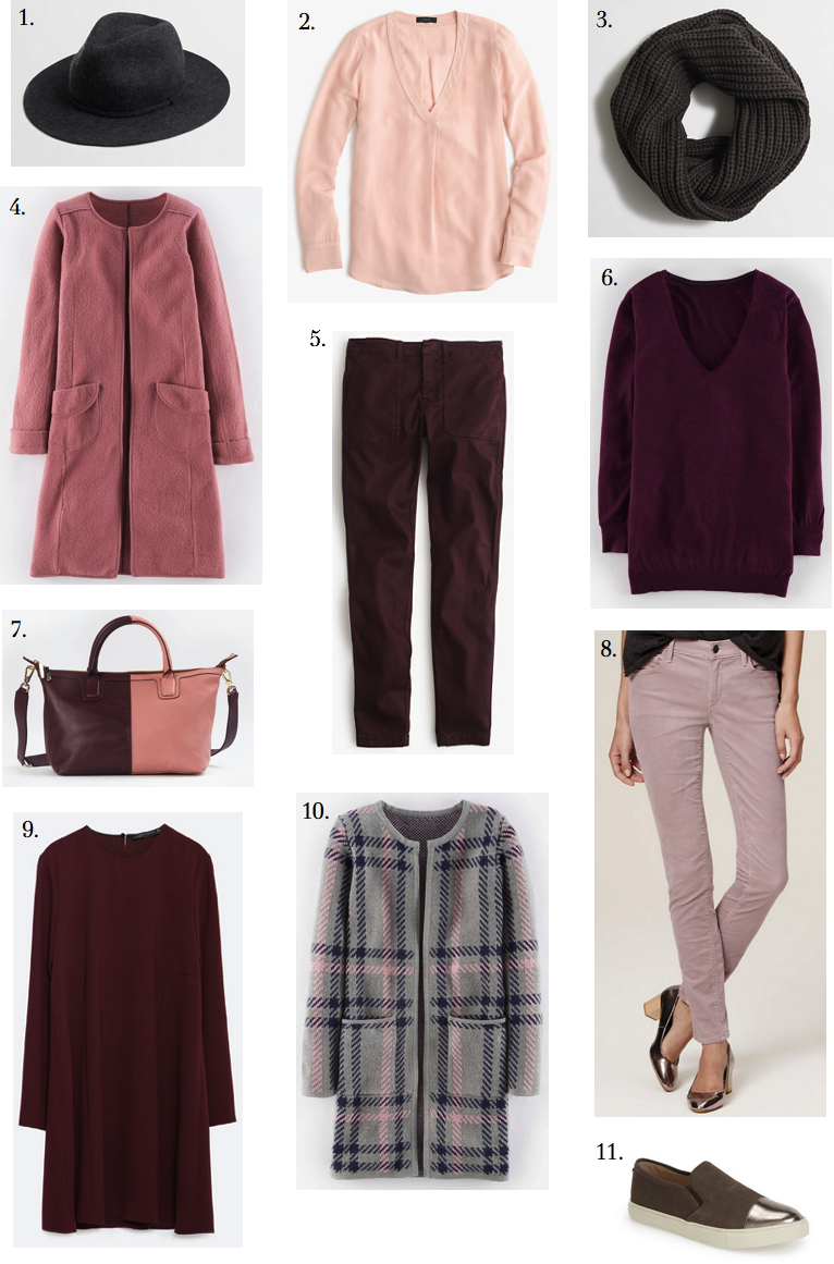 burgundy:pink